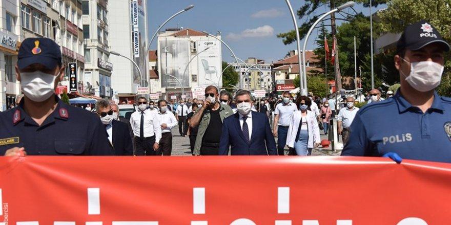 Karaman'da Pandemi Farkındalık Yürüyüşü