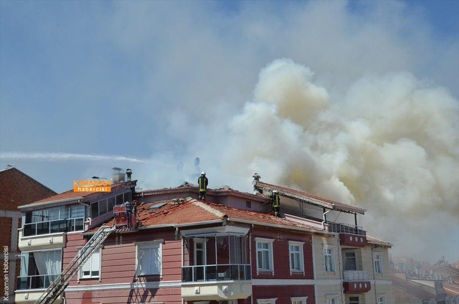 Karaman'da Yangın 1