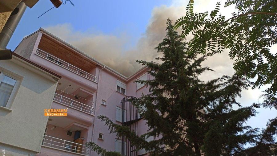 Karaman'da Yangın 16