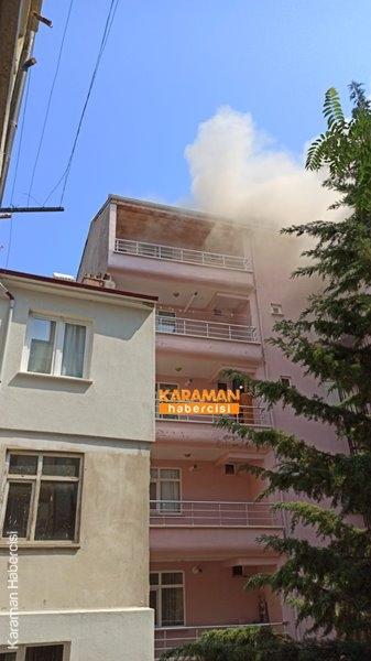 Karaman'da Yangın 24