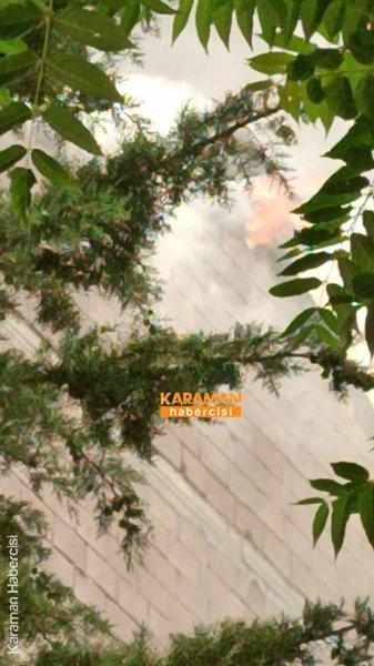 Karaman'da Yangın 25