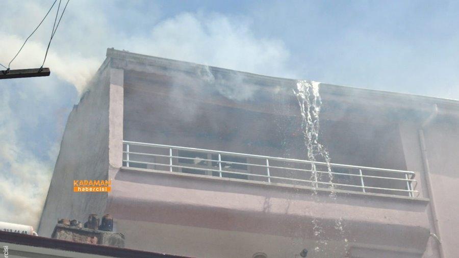 Karaman'da Yangın 31