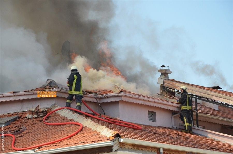 Karaman'da Yangın 5