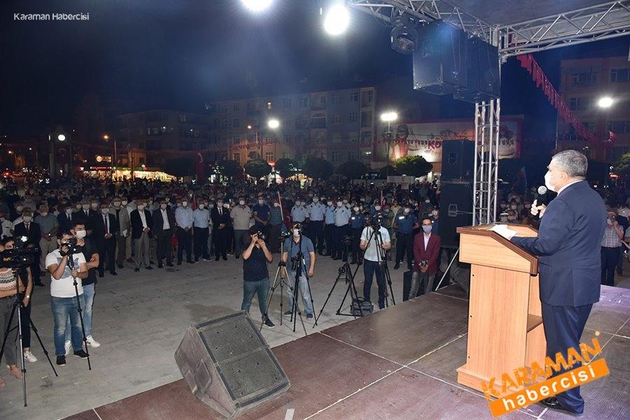 Karaman'da 15 Temmuz Etkinlikleri 19