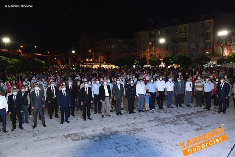 Karaman'da 15 Temmuz Etkinlikleri 5