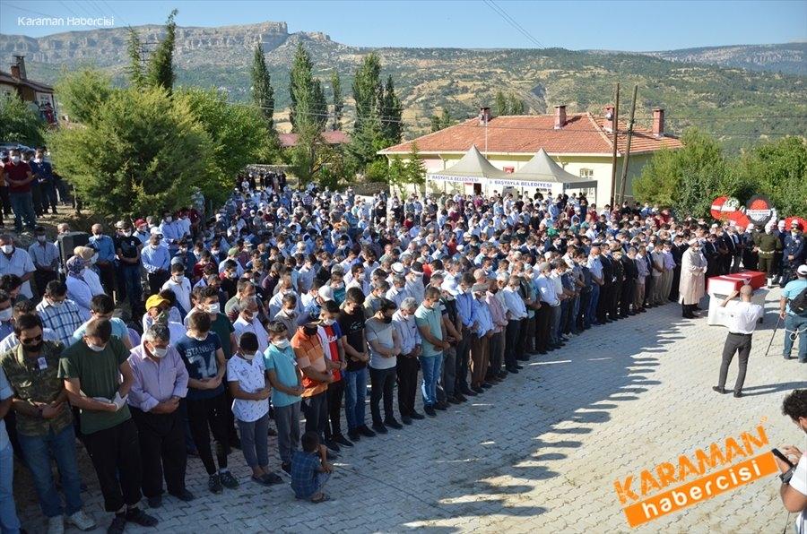 Sözleşmeli Piyade Er Mustafa Ahmet Demir, memleketi Karaman'da son  1