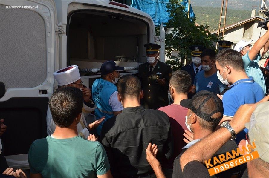 Sözleşmeli Piyade Er Mustafa Ahmet Demir, memleketi Karaman'da son  15