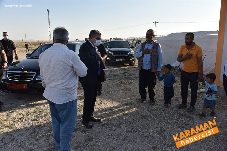 Karaman'da Tarım İşçilerine Ziyaret 1