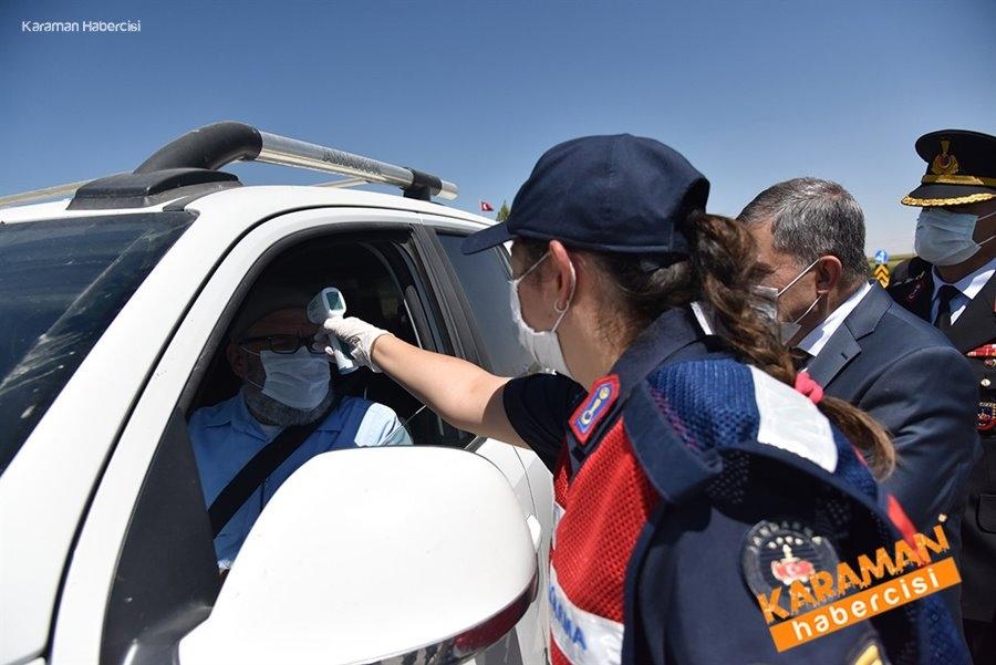 Karaman'da Kurban Bayramı Dolayısıyla Yol Denetimleri 9
