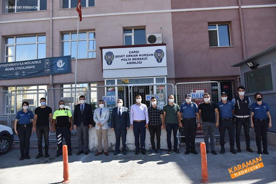 Şehit Polis ve Polis Merkezlerine Ziyaret 10