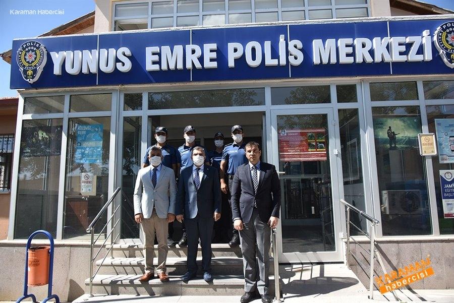 Şehit Polis ve Polis Merkezlerine Ziyaret 5