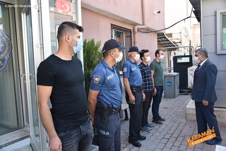 Şehit Polis ve Polis Merkezlerine Ziyaret 7