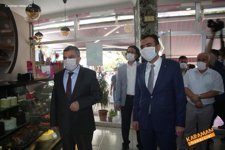 Karaman'da Koronavirüs Denetimleri 1