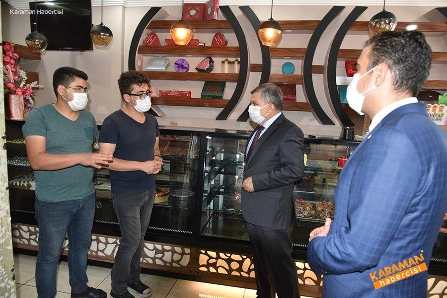 Karaman'da Koronavirüs Denetimleri 6