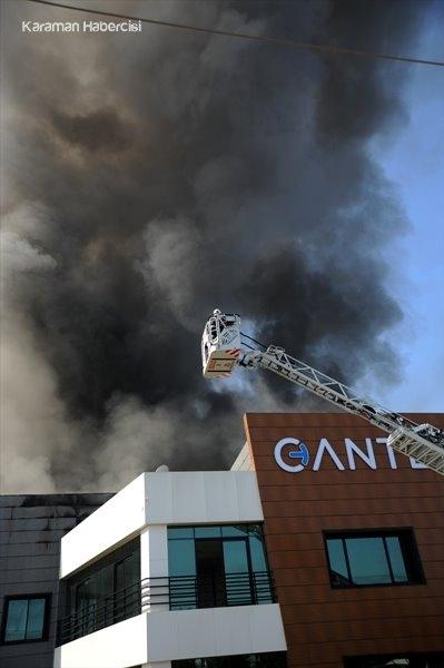 Antalya'da Fabrika Yangını 11