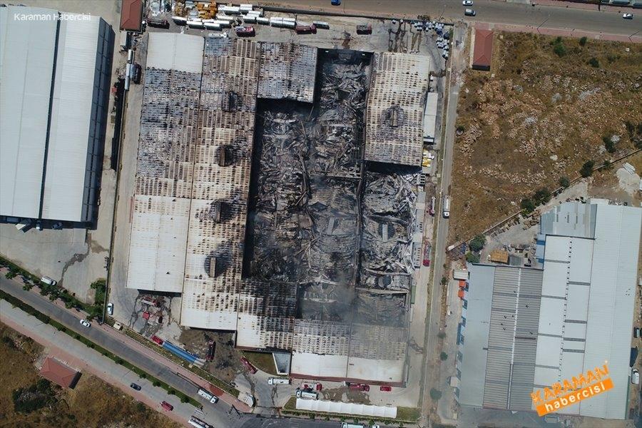Antalya'da Fabrika Yangını 19