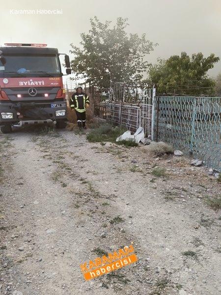 Karaman'da Ahır Yangını 5