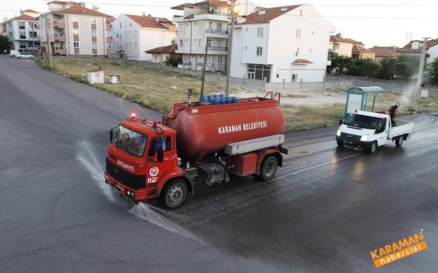 Karaman'da Dezenfekte Çalışmaları 1
