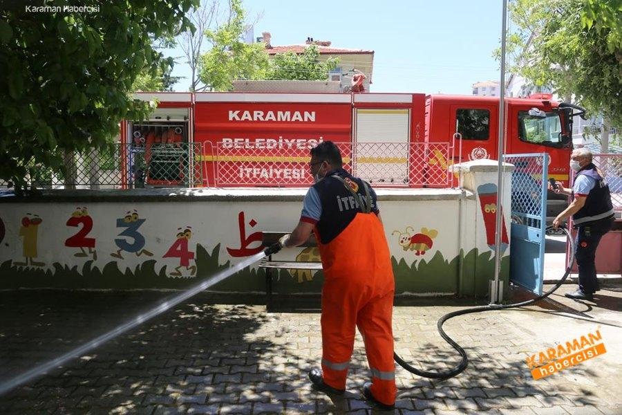 Karaman'da Dezenfekte Çalışmaları 4