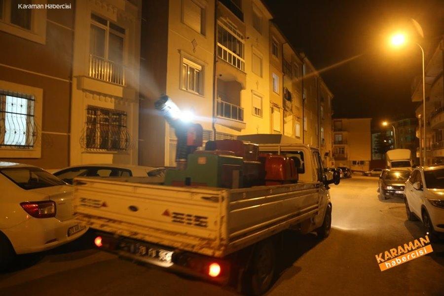 Karaman'da Dezenfekte Çalışmaları 8