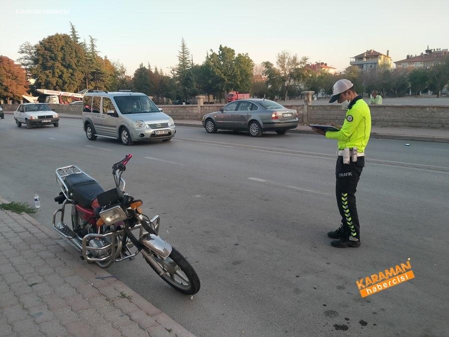 Karaman'da Trafik Kazası 1
