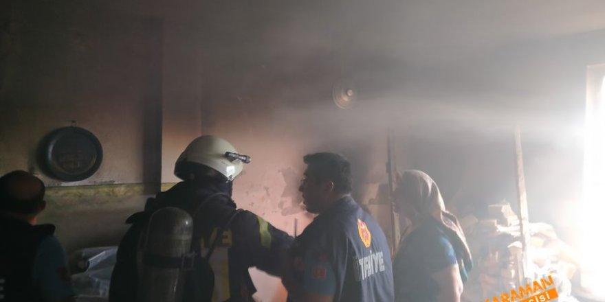 Karaman'da Ekipleri Alarma Geçiren Olay