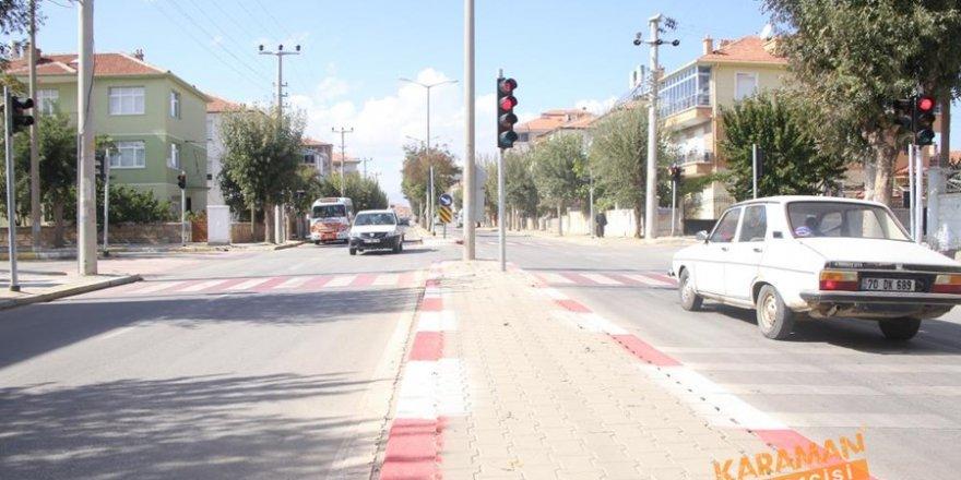 Karaman'da Yeni Trafik Lambaları