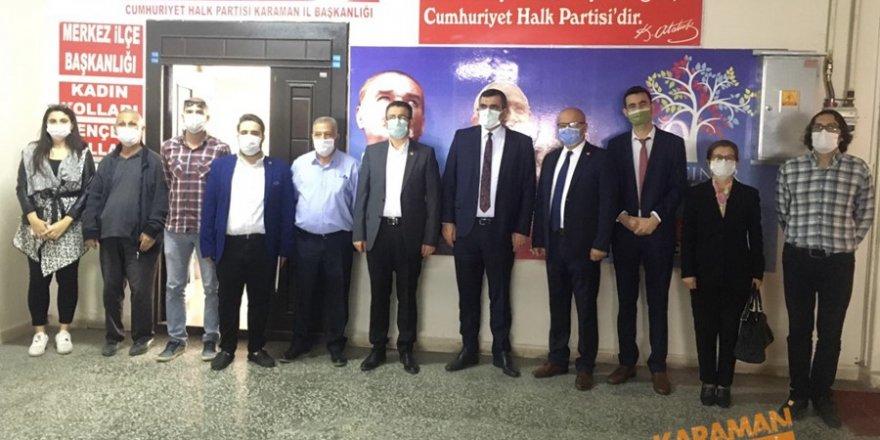 CHP'den Kobilere Ziyaraet