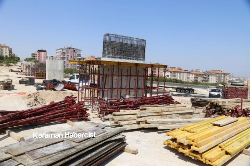 Başkan Çalışkan Köprü Çalışmalarını Yerinde İnceledi 6