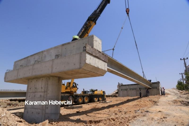 Başkan Çalışkan Köprü Çalışmalarını Yerinde İnceledi 9