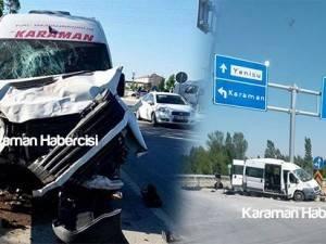 Konya Karaman Yolu Trafik Kazası