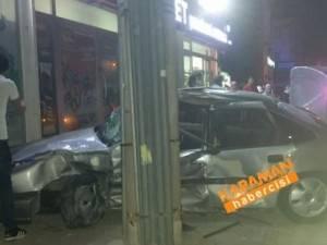 Karaman İbrahim Öktem Caddesi Üzeri Trafik Kazası
