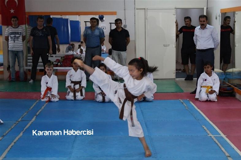 Karaman'da Yaz Spor Okulları Cıvıl Cıvıl 1