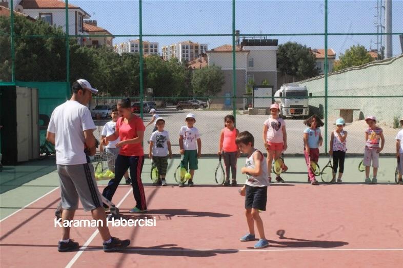 Karaman'da Yaz Spor Okulları Cıvıl Cıvıl 3