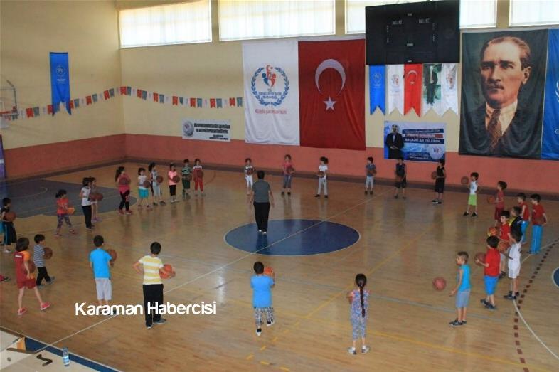 Karaman'da Yaz Spor Okulları Cıvıl Cıvıl 5