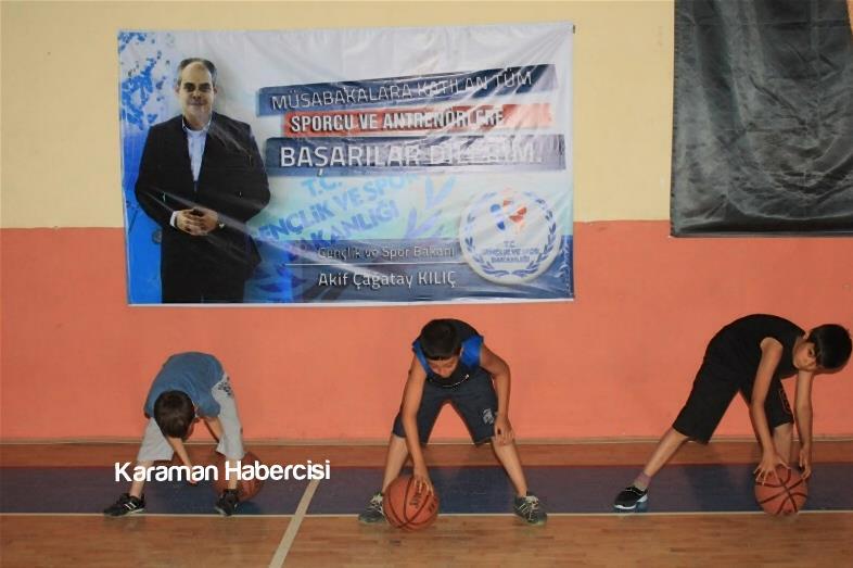 Karaman'da Yaz Spor Okulları Cıvıl Cıvıl 6