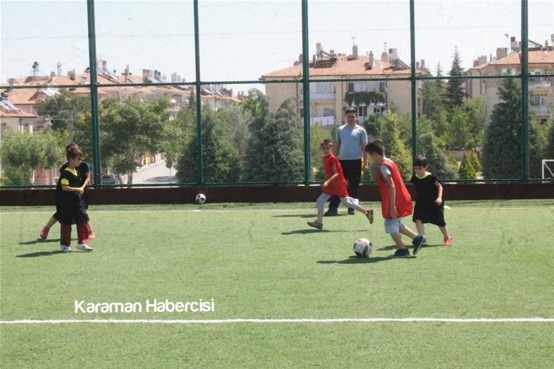 Karaman'da Yaz Spor Okulları Cıvıl Cıvıl 7