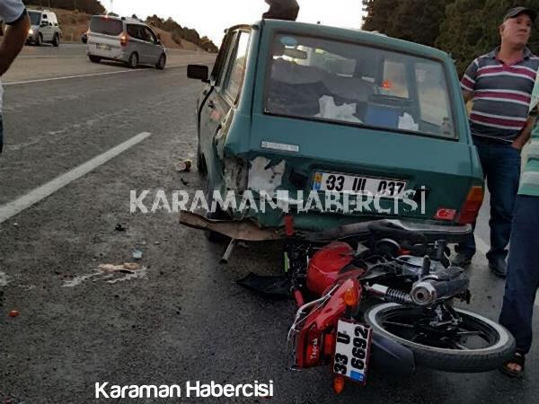 Karaman Mut Yolunda Trafik Kazası 3