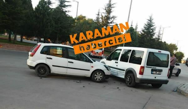 Karaman'da Trafik Kazaları 1