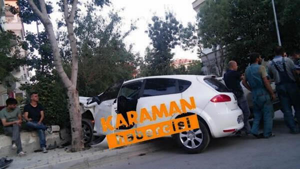 Karaman'da Trafik Kazaları 3