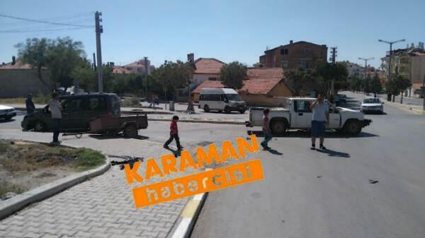 Karaman'da Trafik Kazaları 8