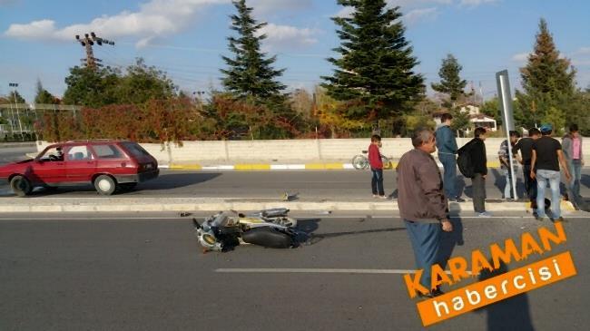 Karaman'da Trafik Kazasında Yaralanan Genç Konya'ya Sevk Edildi 1