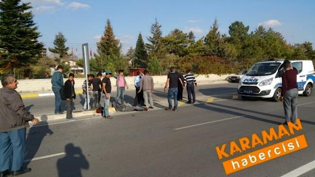 Karaman'da Trafik Kazasında Yaralanan Genç Konya'ya Sevk Edildi 3