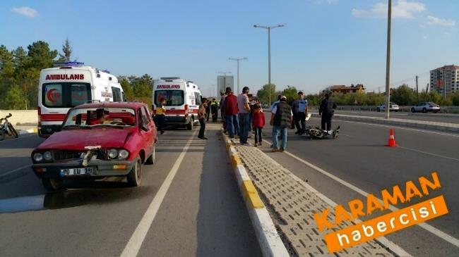 Karaman'da Trafik Kazasında Yaralanan Genç Konya'ya Sevk Edildi 5