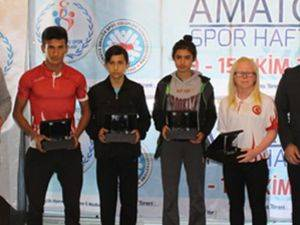 Karaman'da Yılın Enleri Ödülleri Sahiplerini buldu