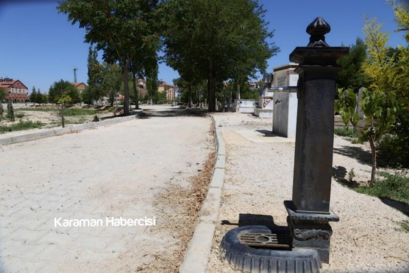 Karaman Mezarlık Hizmetlerinde Örnek Belediye 2