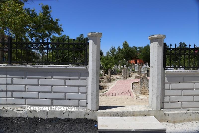 Karaman Mezarlık Hizmetlerinde Örnek Belediye 3