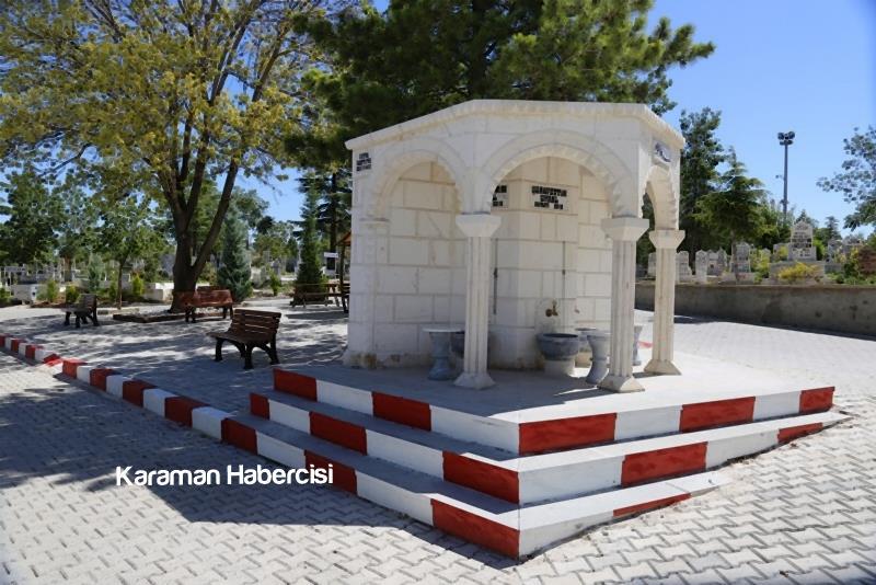 Karaman Mezarlık Hizmetlerinde Örnek Belediye 6
