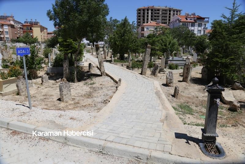 Karaman Mezarlık Hizmetlerinde Örnek Belediye 9