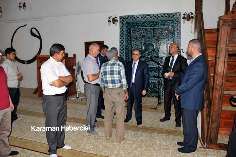 Vali Süleyman Tapsız'ın İlçe Ziyaretleri 23